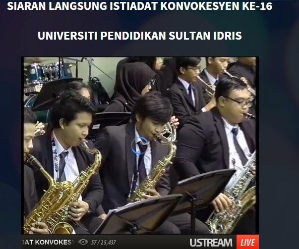 Live Streaming Majlis Konvokesyen Ke 16 UPSI