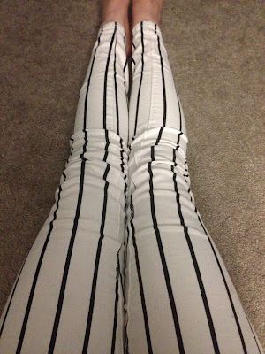 Nerd Allure Forever21 Striped Jeans