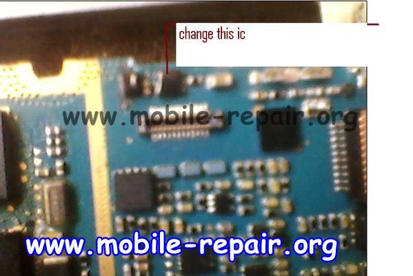Samsung C3303 Display Lighting solution
