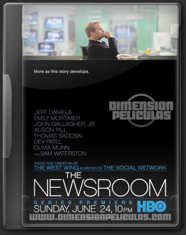 The Newsroom (Temporada 1 HDTV Inglés Subtitulado) (2012)