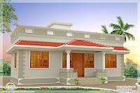 diseño de casa de un piso lujosa blanca