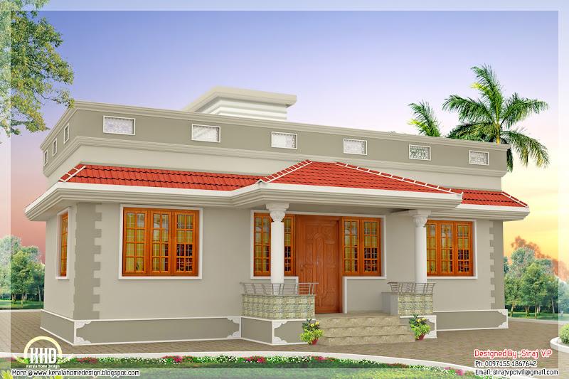 Diseño de casa de un piso muy lujosa blanca title=