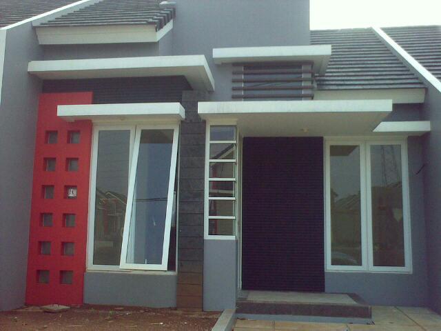 Gambar Rumah 1 Lantai, 2 Lantai Minimalis Type 21 2014