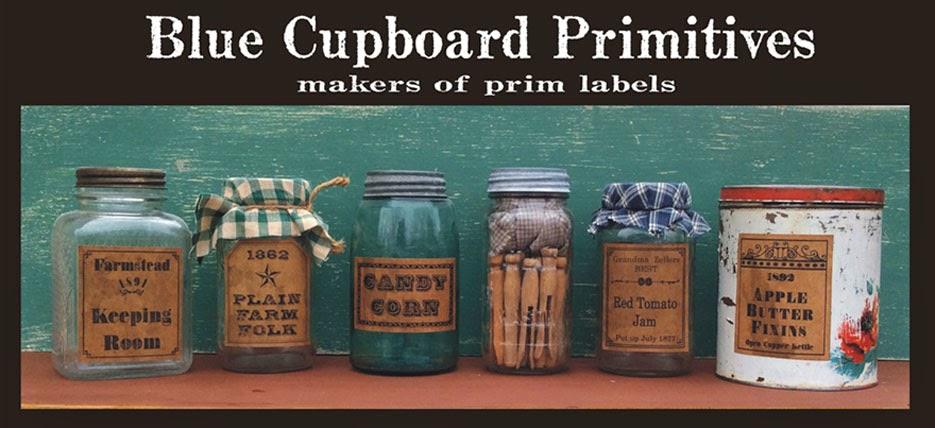 Blue Cupboard Primitives