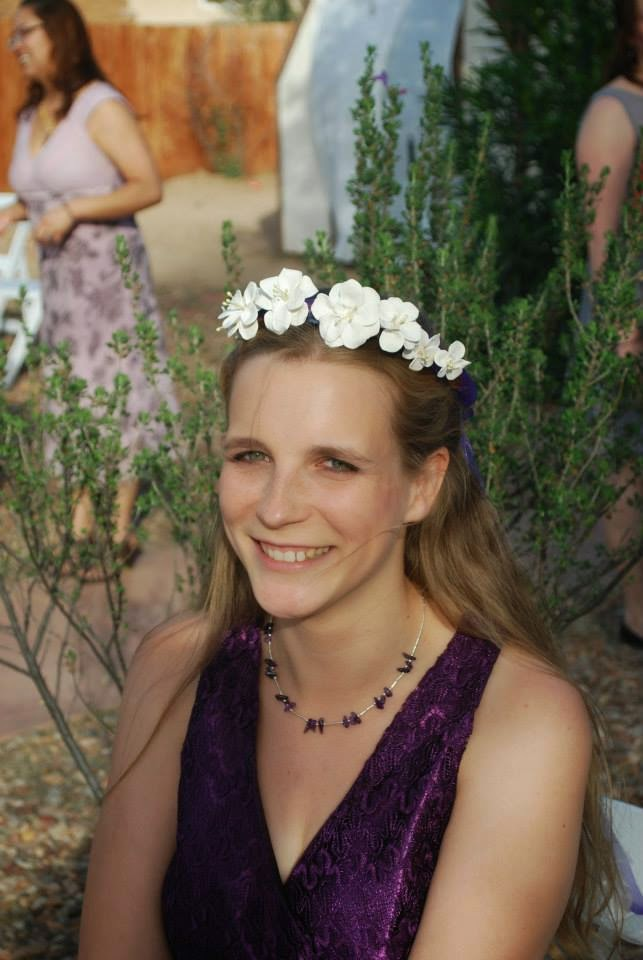wedding handmade flower crown