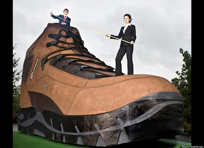 World's Largest Hiking Boot