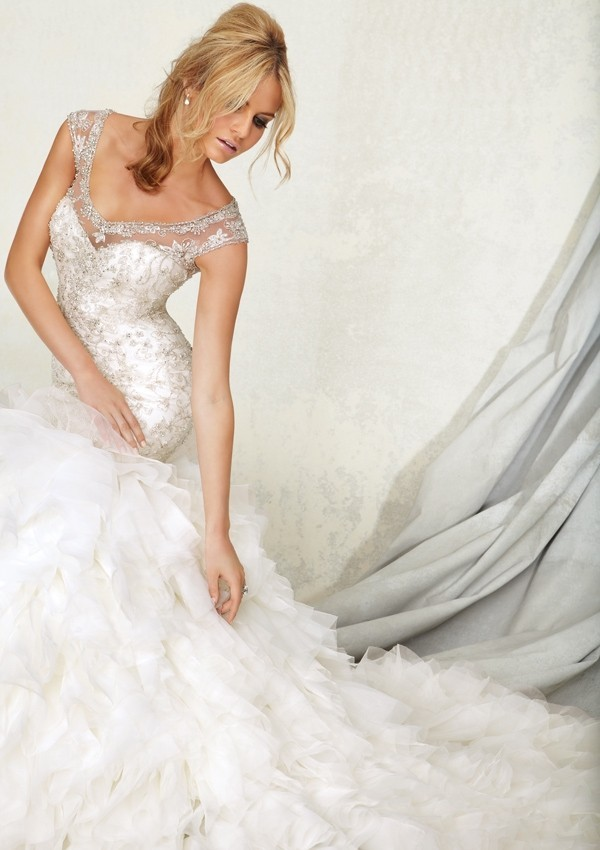 Honey Buy Angelina Faccenda Spring 2013 Bridal Collection
