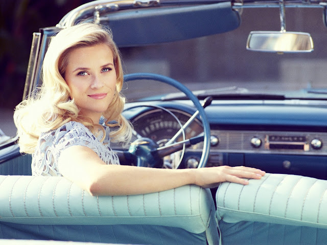 Reese Witherspoon - Simon Emmett Photoshoot 2012 for Glamour