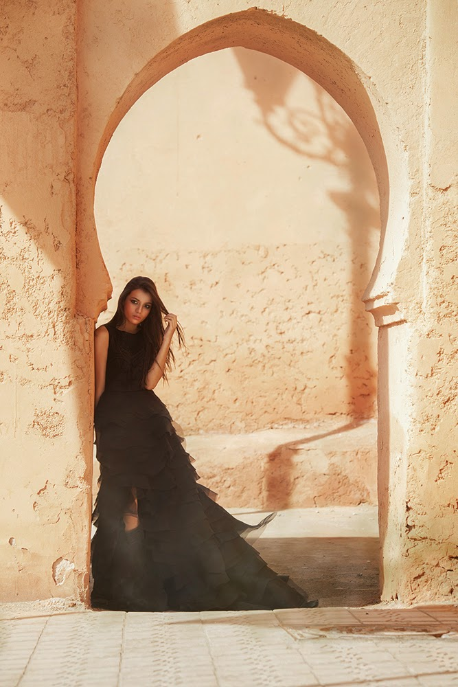 Fashion photo shoot from Norway to Marrakech