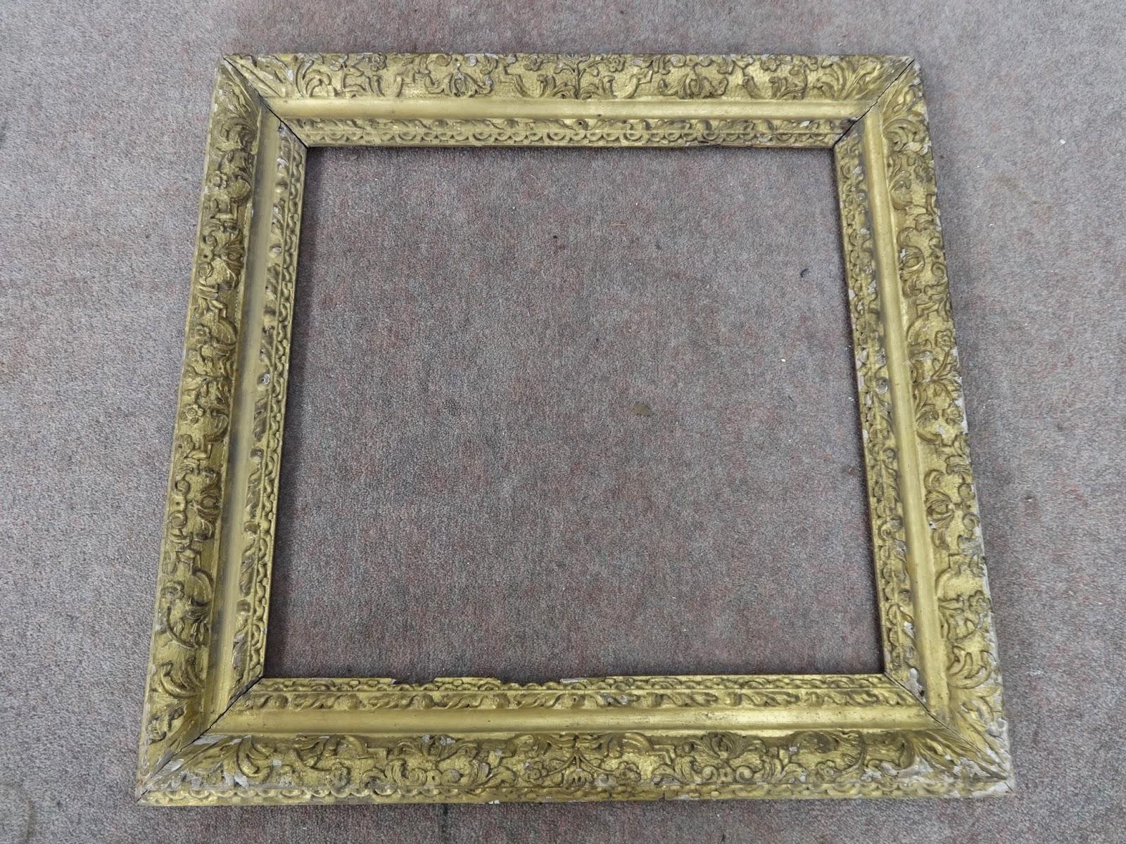 Framemaker: An English 17th/18th C Carved Frame