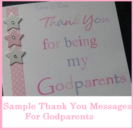 Wedding Gift List Thank You Message : Thank You Messages For Godparents/ Thank You Notes For Godparents ...
