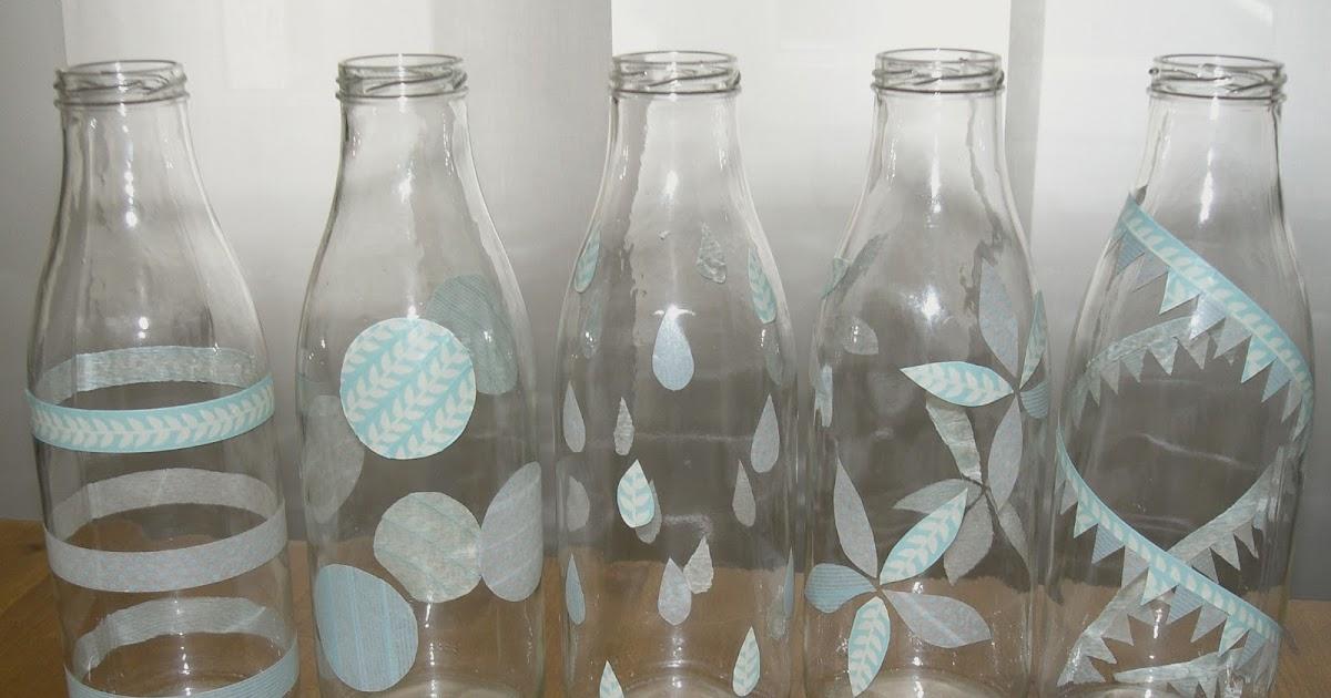 Gabulle in wonderland diy d corer vos bouteilles en - Peindre des verres a pied ...