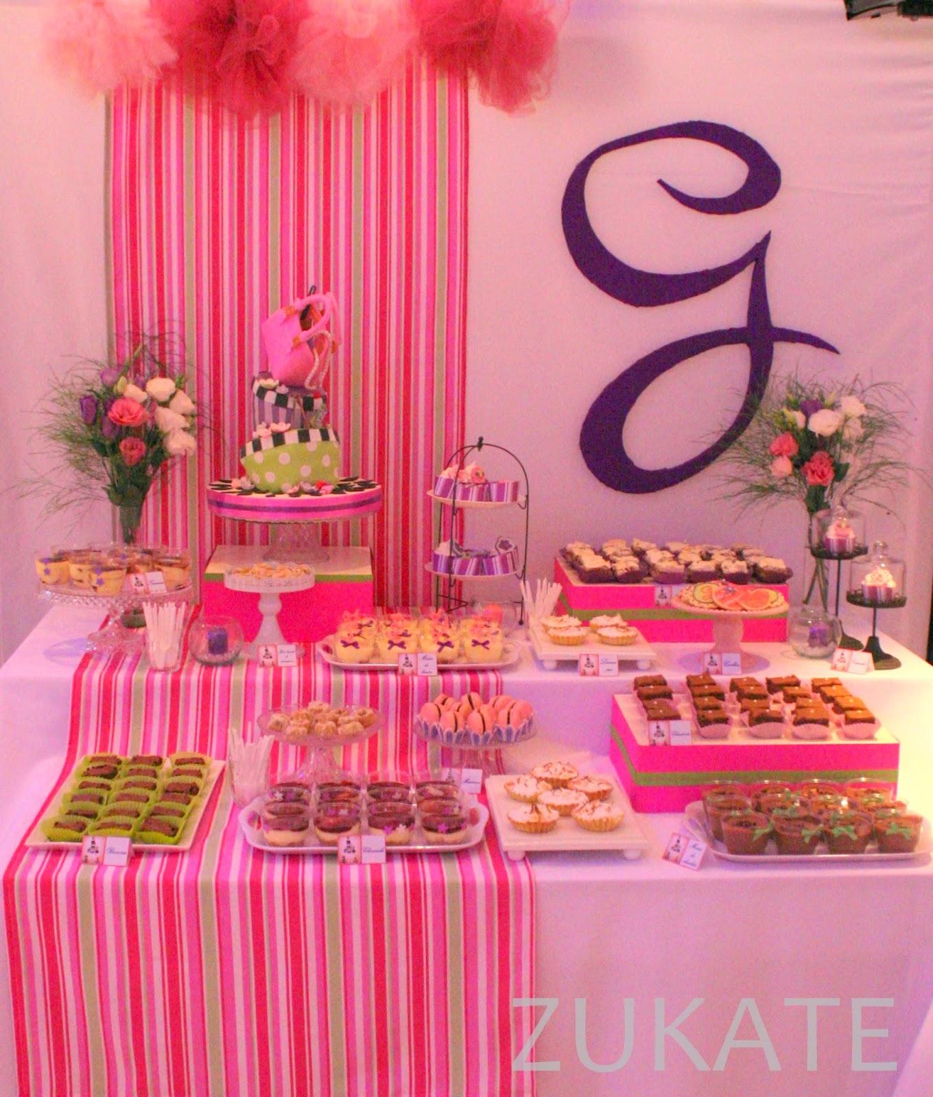 Zukate mesas dulces tem ticas for Decoracion mesas dulces