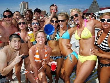 Do you remember your college spring break?