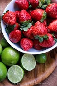 Aperitivos con Frutas, Coctel de Fresas