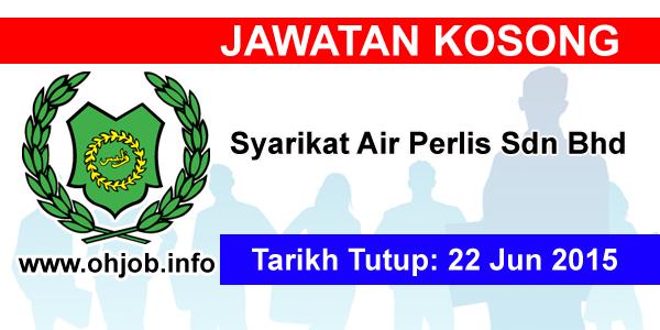 Jawatan Kerja Kosong Syarikat Air Perlis Sdn Bhd logo www.ohjob.info jun 2015