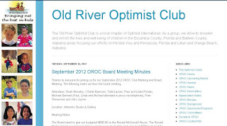 optimist club blog