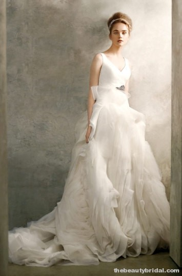 Cheap wedding gowns online blog organza wedding dresses for Affordable vera wang wedding dresses