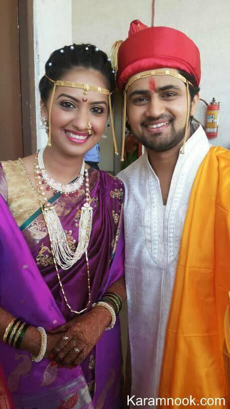 Tejashri Pradhan -Shashank Ketkar Marriage Photos