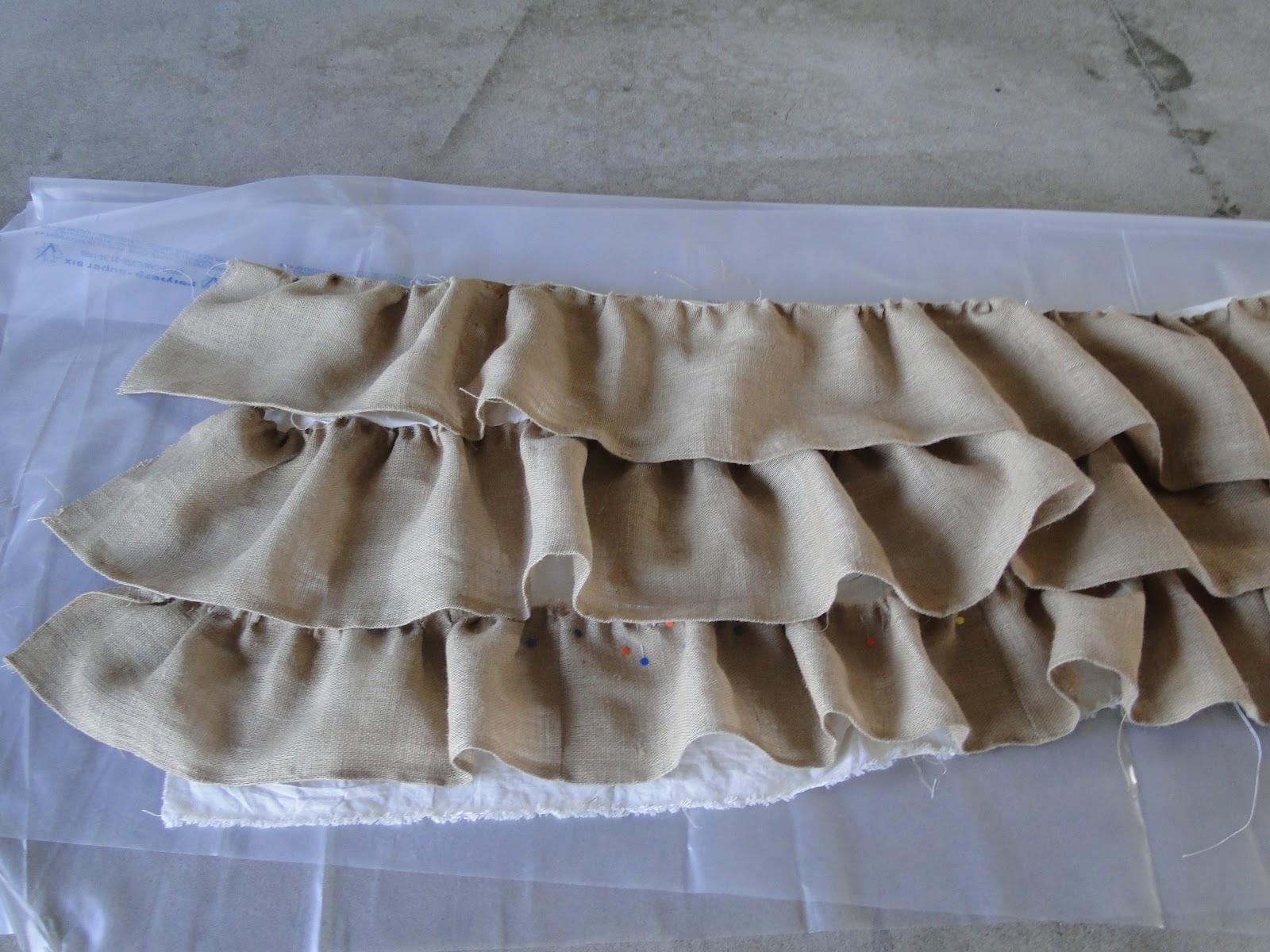 DIY Ruffled Burlap Head Tablecloth, Camelliau0027s, Thunder Bay