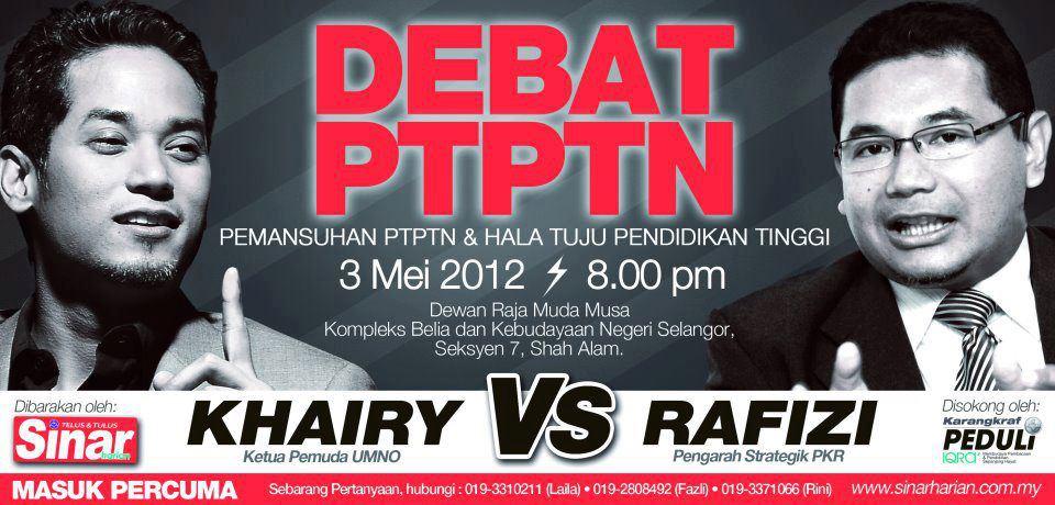 debat ptptn 2012 video