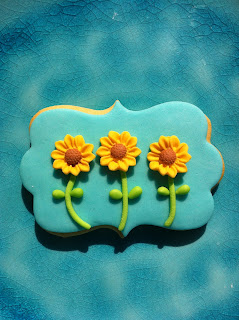 galletas decoradas girasoles