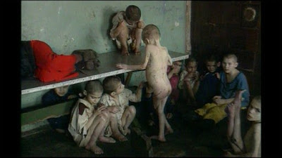 Romanian orphanages children