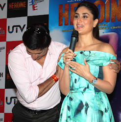 Kareena Kapoor Super Hot At The Launch Of Heroine Movie Title Track