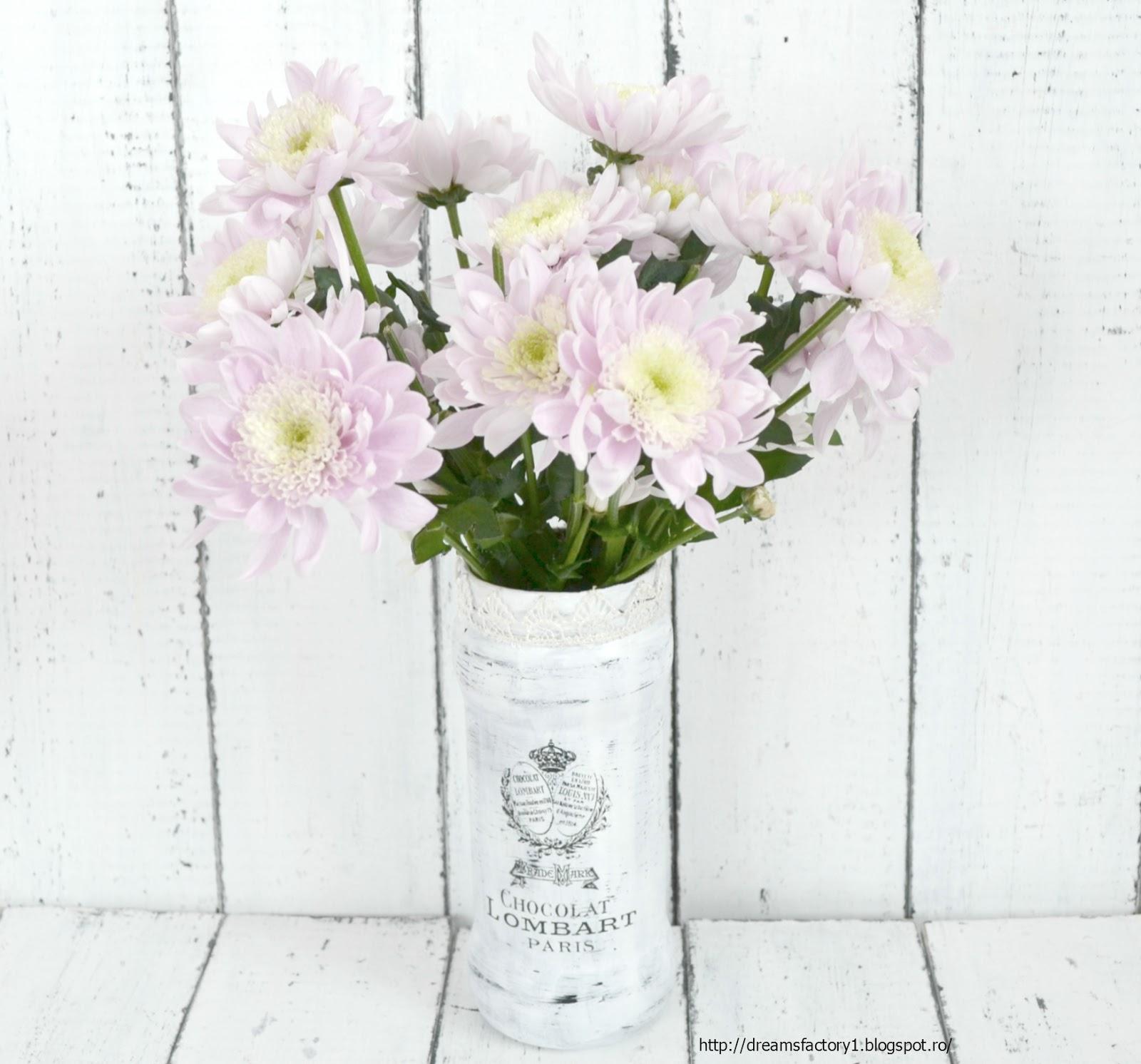 Populaire Semn vintage cu vaza ~ Maison des fleurs ~ - Dreams Factory PA73