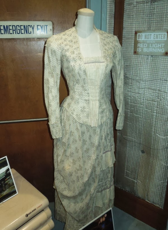 Clara Clayton Western gown Back to the Future III