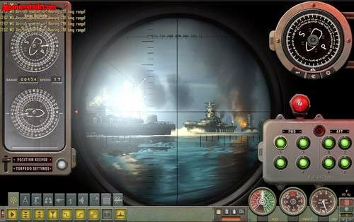 Gameplay Silent Hunter : Wolves of the Pacific