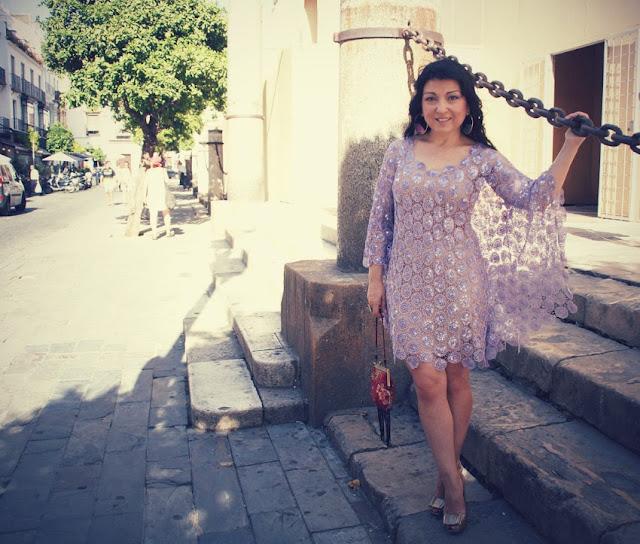 vestido capa alejandro+postigo