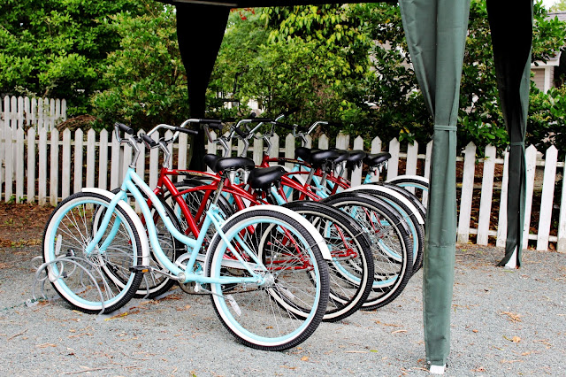 Bikes at our B&B vacation #getaway #vacation #travel #bicycle