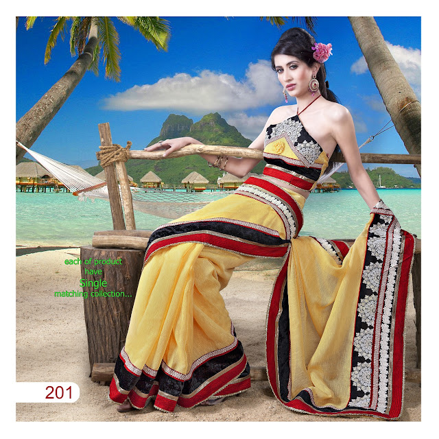Embroidery saree designs products – Party Wear Sarees Collection