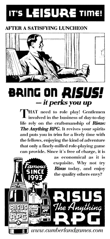 Bring on Risus!