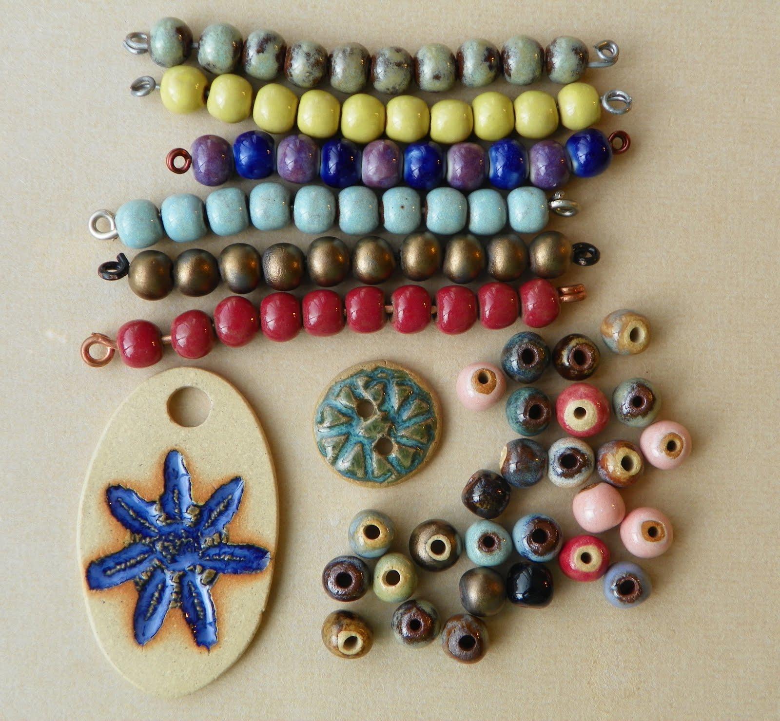 Ceramic Bead Beads: Erin Siegel Jewelry: Bead Fest Philly