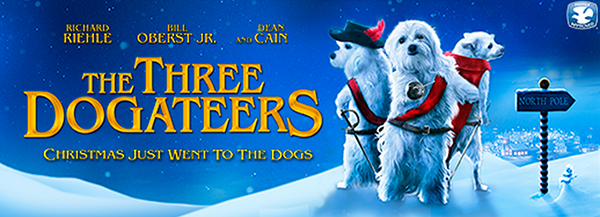 Enter to win The Three Dogateers