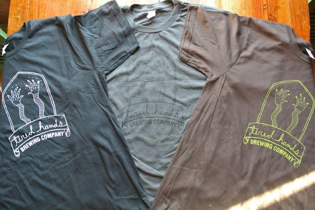Tired Hand shirts
