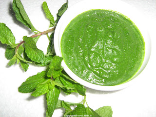 Mint apple healthy juice recipe