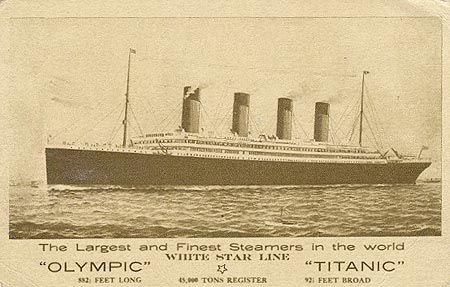 Promotional flyer of White Star Line