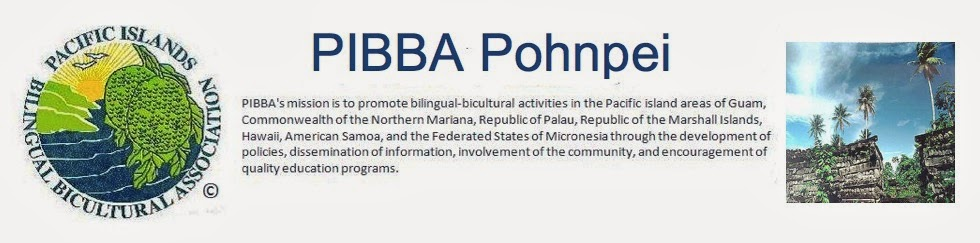 PIBBA Pohnpei Website