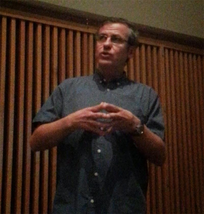 Rufino Ferreras, profesor del curso Educación, patrimonio y técnologías