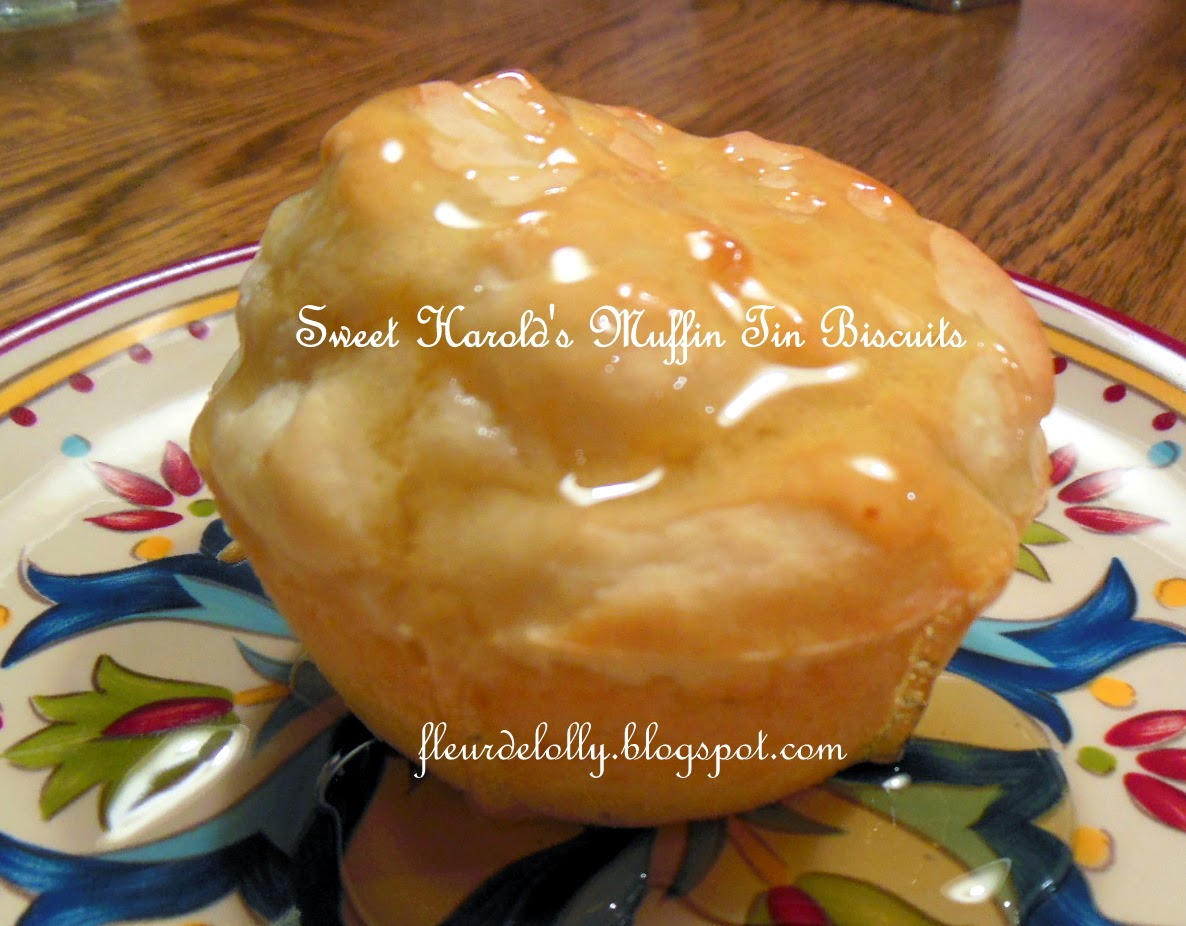 Fleur de Lolly: Sweet Harold's Muffin Tin Biscuits with ...