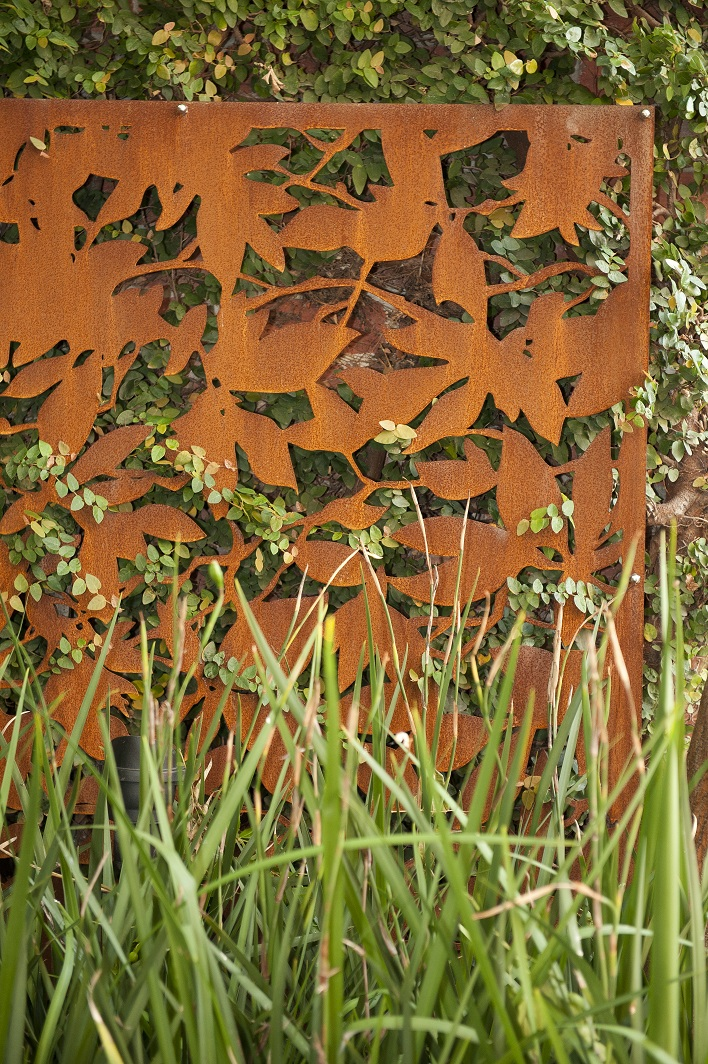 corten steel jenny smith gardens