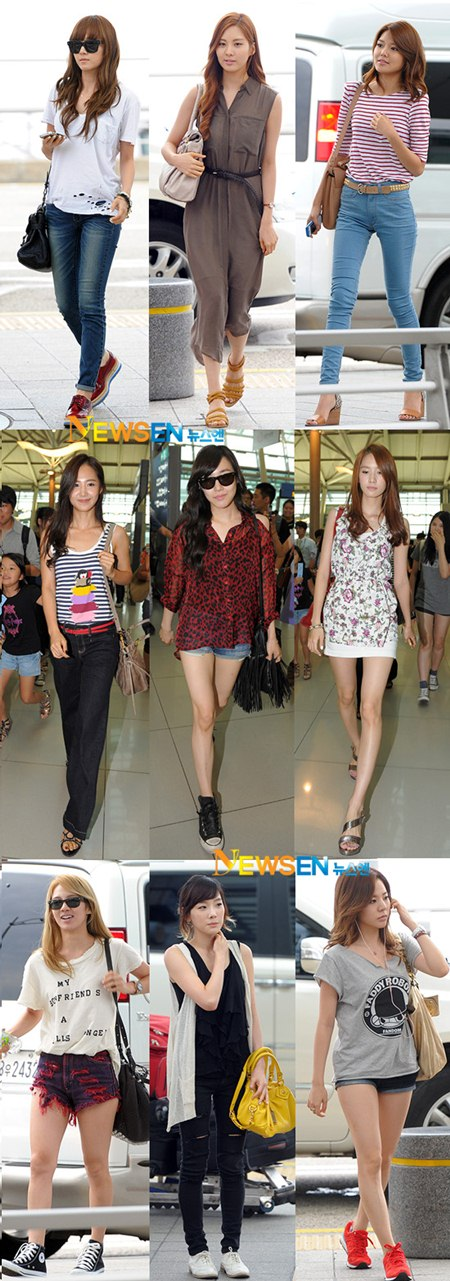 Roses Are Blue Airport Fashion