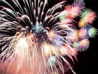 打ち上げ花火(松山港まつり) | 花火のイラストや写真のフリー素材色々。無料で商用可