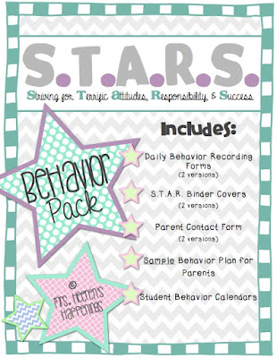 https://www.teacherspayteachers.com/Product/STARS-Behavior-Pack-2015-2016-322037