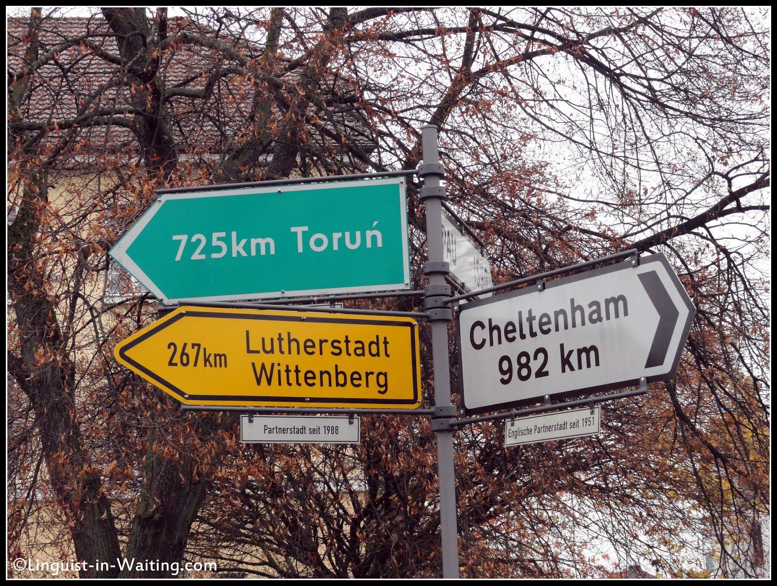 Memoirs of a Traveling Ex Linguist Year 13 Göttingen