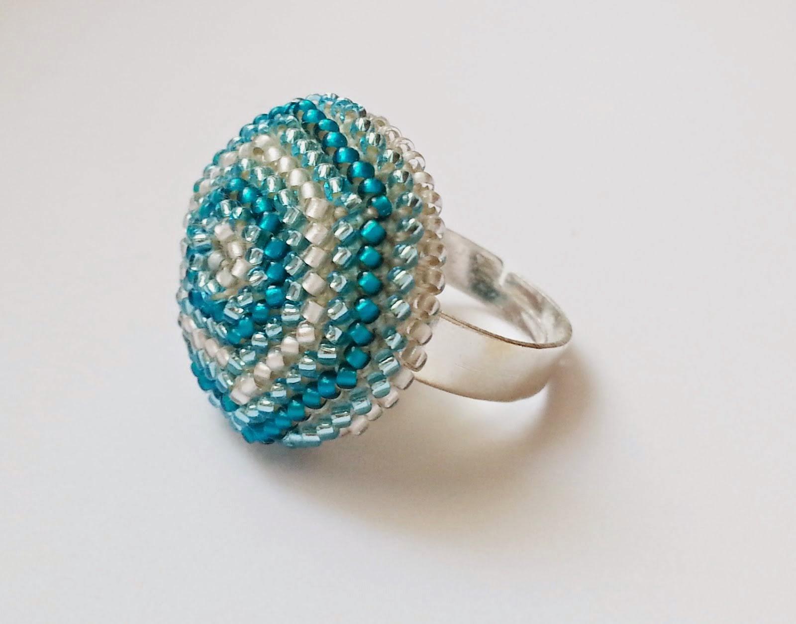 Tutorial na pierścionek szydełkowy