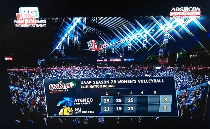 UAAP Cignal TV, Ateneo Lady Eagles, Ateneo Volleyball